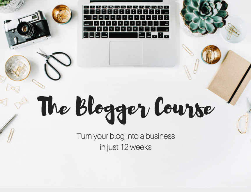 Recommended: The Blogger Course by Monica Stott