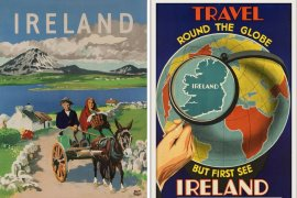 55x Vintage Travel Posters Ireland That You Want To Put On Your Wall || The Travel Tester