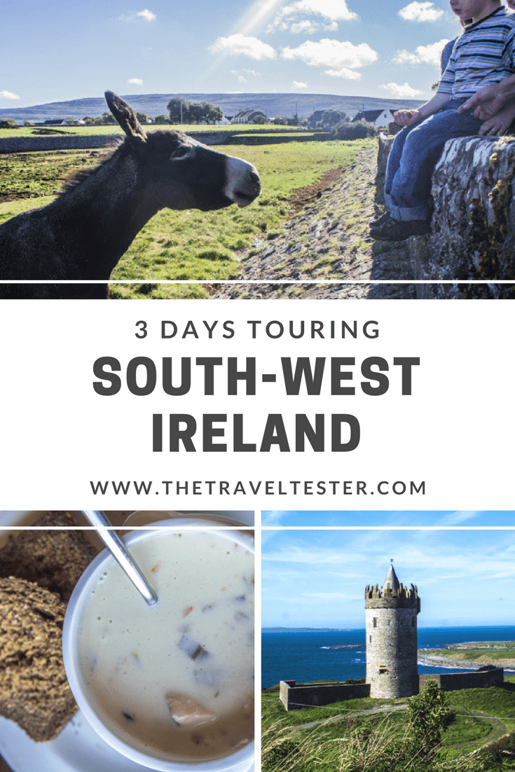 Exploring South West Ireland: Galway, Cliffs of Moher, Dingle & Cork