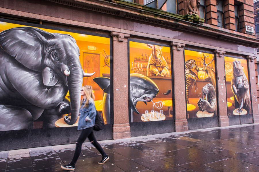 Glasgow Artists and their Best Murals   The Travel Tester