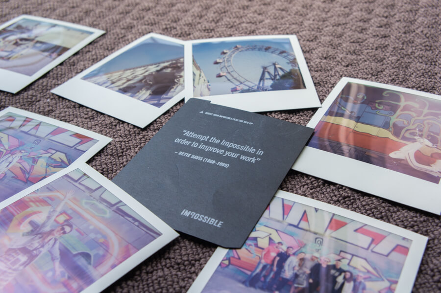 Creative Polaroid Walk with Polawalk in Vienna, Austria || Review by The Travel Tester