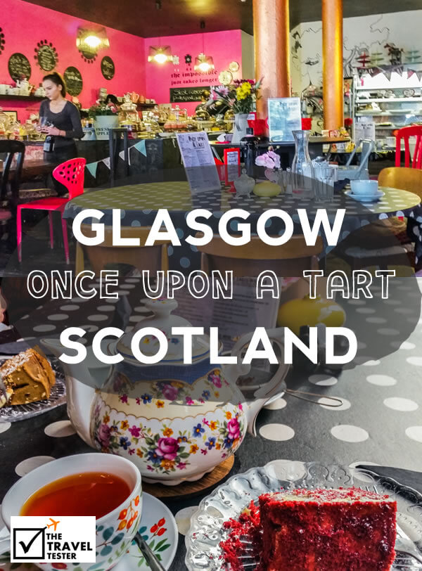 Sweet Delights at Once Upon a Tart in Glasgow, Scotland || The Travel Tester