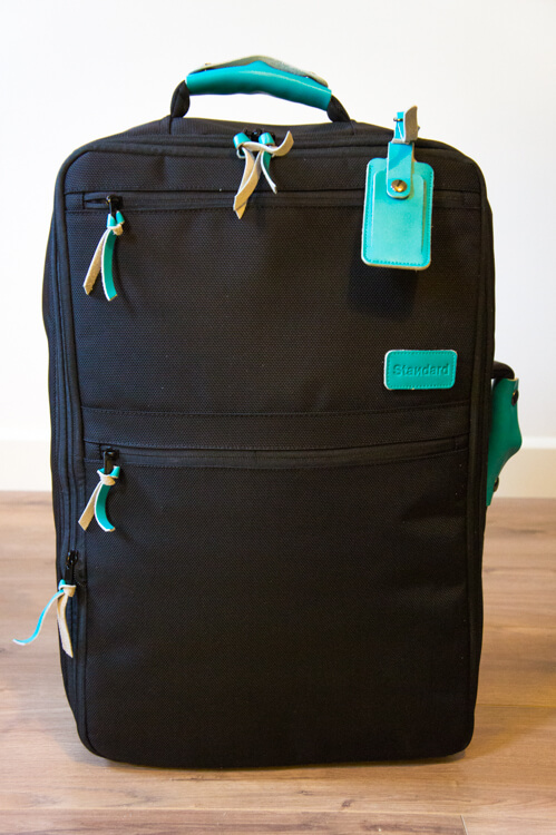 Standard Luggade 3-in-1 bag - The Travel Tester