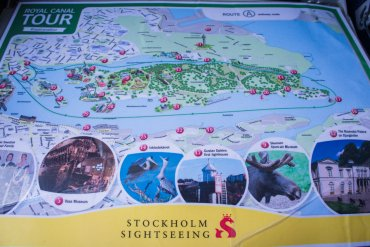 The Brochure Rack: Hop-On Hop-Off Bus & Boat In Stockholm, Sweden || The Travel Tester