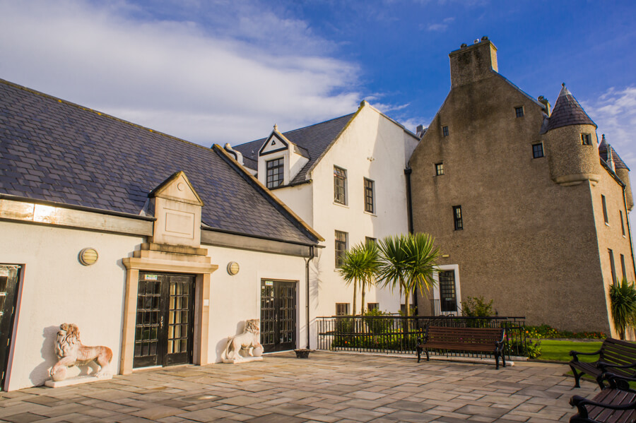 Sleep in a Cloud... and Meet a Ghost at 17th Century Ballygally Castle in Northern Ireland || The Travel Tester