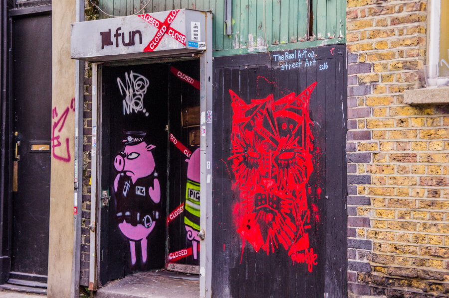 Camden Street Art London Urban Adventures Tour Review || The Travel Tester