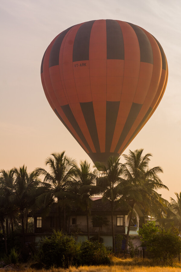 Bucket List Experience: Hot Air Balloon in Goa, India || The Travel Tester