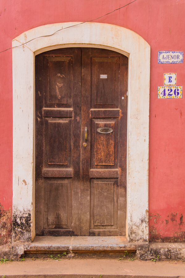 35 Doors and Windows in Panjim's Latin Quarter Fontainhas - Goa, India || The Travel Tester