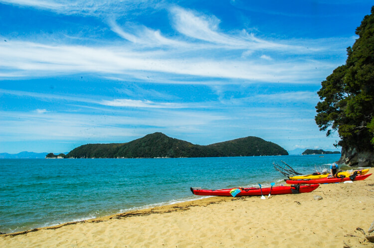 The Brochure Rack: Sea Kayak in Abel Tasman National Park, New Zealand | TTT Brochure Rack