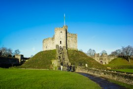 The Brochure Rack: Cardiff Castle in Cardiff, Wales | TTT Brochure Rack