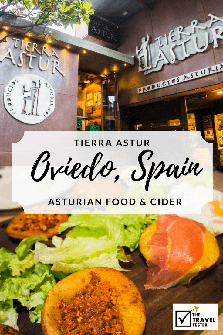 Asturian Food and Cider at Tierra Astur in Oviedo, Spain    The Travel Tester
