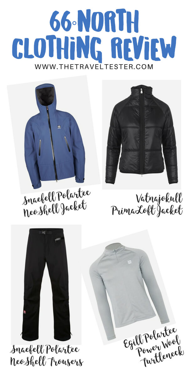 66 Degrees North Clothing Review: Neoshell Jacket, Primaloft Jacket, Polartec Pants and Power Wool Base Layer - Best Outdoor Clothing in Iceland! || The Travel Tester