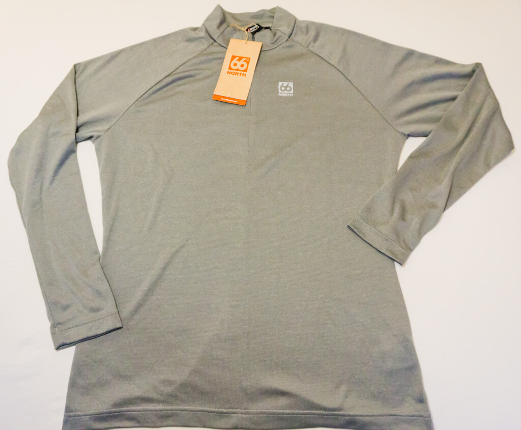 66 Degrees North Clothing Review: Egill Polartec Base Layer: Power Wool Zip Turtleneck || The Travel Tester