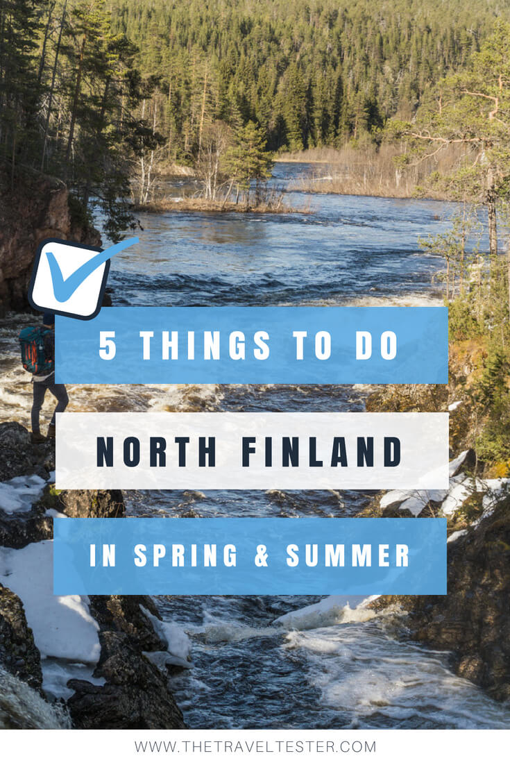5x Things to Do in Northern Finland & Finnish Lapland in Summer & Spring || The Travel Tester || #Travel #Finland #Lapland #Nature #Summer #Spring #Finnish