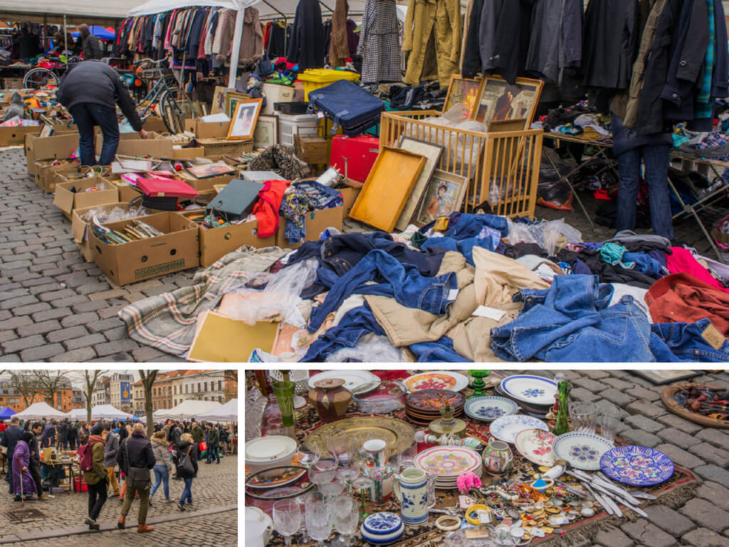 One Day in Brussels, Belgium? Complete Guide to a Perfect City Break    The Travel Tester    #Brussel #Brussels #Belgium #Travel #CityGuide #Belgie #Market #Fleamarket