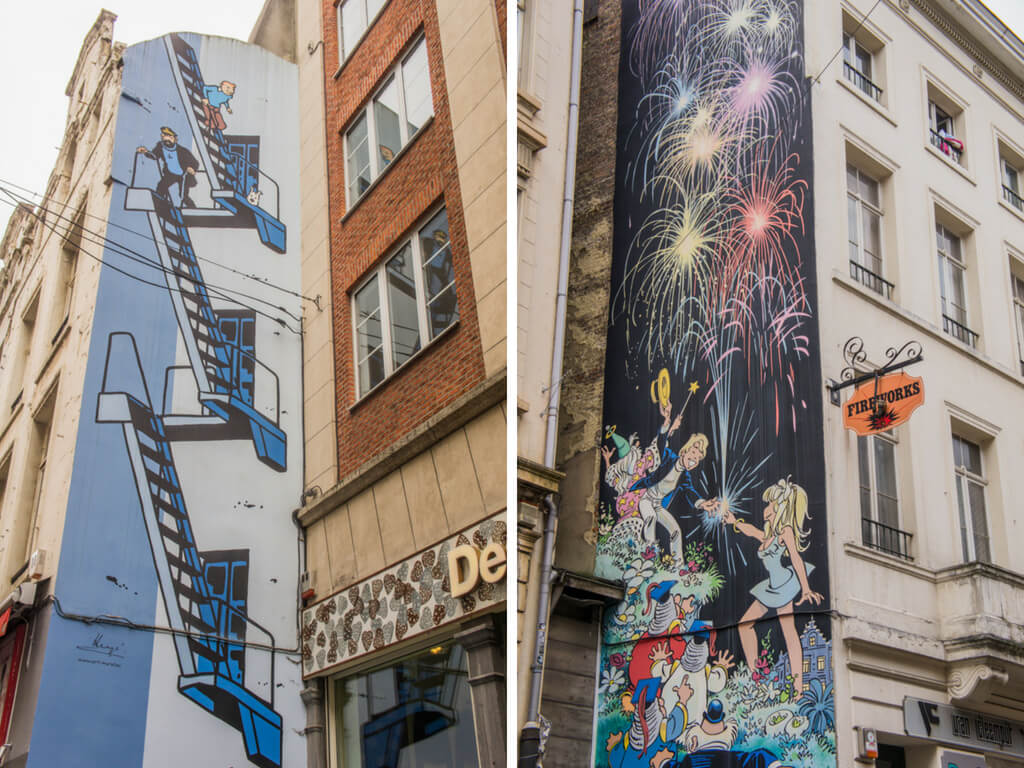 One Day in Brussels, Belgium? Complete Guide to a Perfect City Break    The Travel Tester    #Brussel #Brussels #Belgium #Travel #CityGuide #Belgie #StreetArt