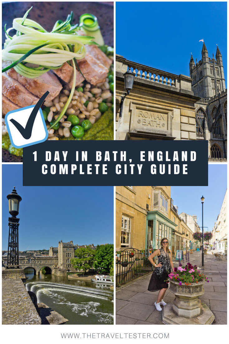 One Day In Bath, England? Complete Guide To A Perfect City Break! || The Travel Tester || #England #Engeland #Bath #RomanBath #Roman #CityGuide #WeekendBreak #UnitedKingdom #GreatBritain