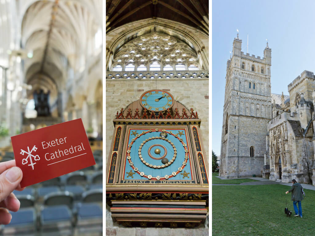 One Day in Exeter, England? Complete Guide to a Perfect City Break!    The Travel Tester    #Exeter #England #GreatBritain #Devon #CityBreak #Travel #Cathedral #Church