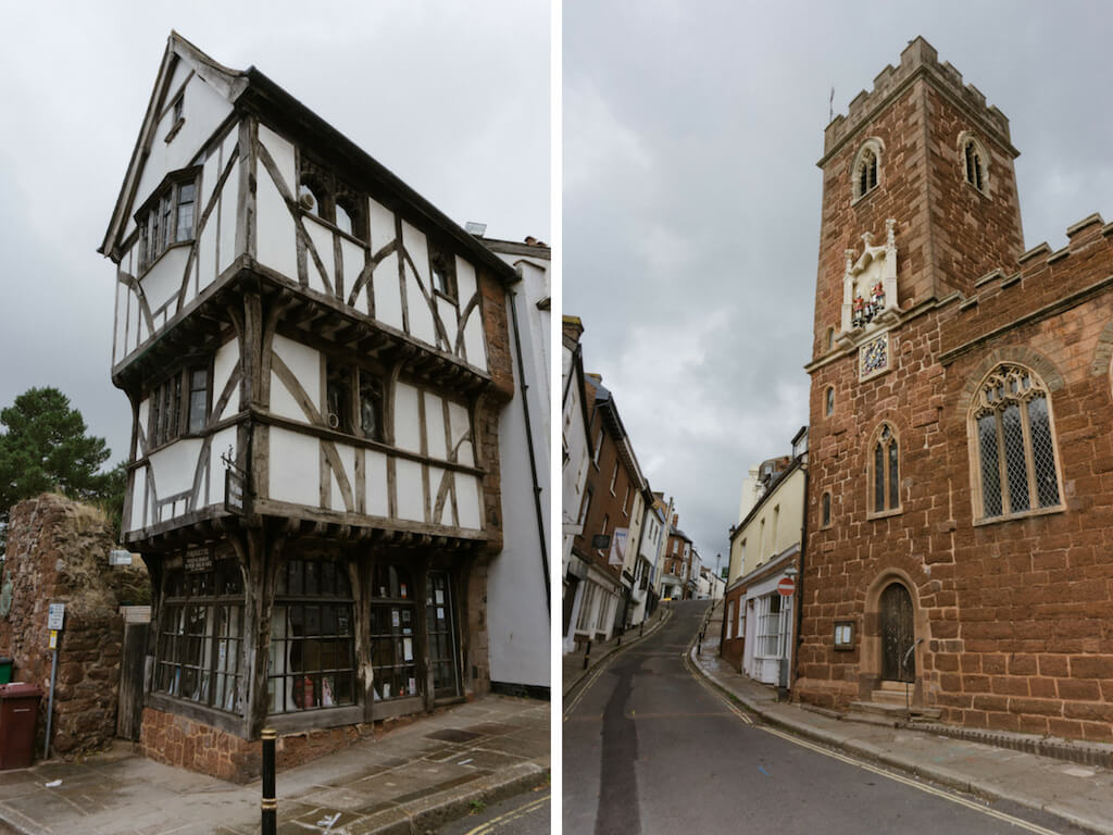 One Day in Exeter, England? Complete Guide to a Perfect City Break!    The Travel Tester    #Exeter #England #GreatBritain #Devon #CityBreak #Travel #StepcoteHill #TudorHouse