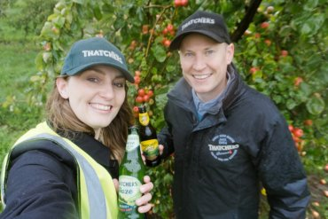Join a Behind-The-Scenes Thatchers Cider Tour in England || The Travel Tester || #Cider #Thatchers #Orchard #England #Somerset #MyrtleFarm #UnitedKingdom #UK
