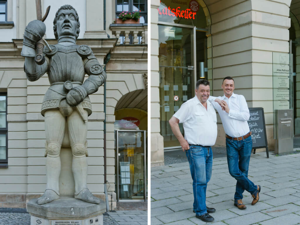 Transromanica Road Trip in Germany: Harz Mountains to the Strasse der Romanik || The Travel Tester || #Transromanica #RoadTrip #Germany #VisitGermany #Magdeburg #ratskeller #germanfood