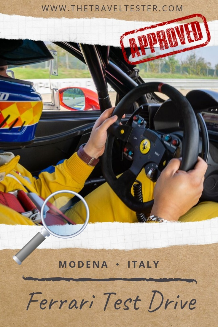 Tested: This is the Ultimate Supercar Driving Experience in Italy! || The Travel Tester || #thetraveltester #italy #travel #modena #ferrari #lamborghini #emiliaromagna #racing