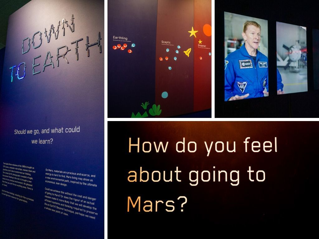 Mission To Mars: Big Questions in the Design Museum in London, England || The Travel Tester || #thetraveltester #space #spacetravel #mars #movingtomars #designmuseum #london