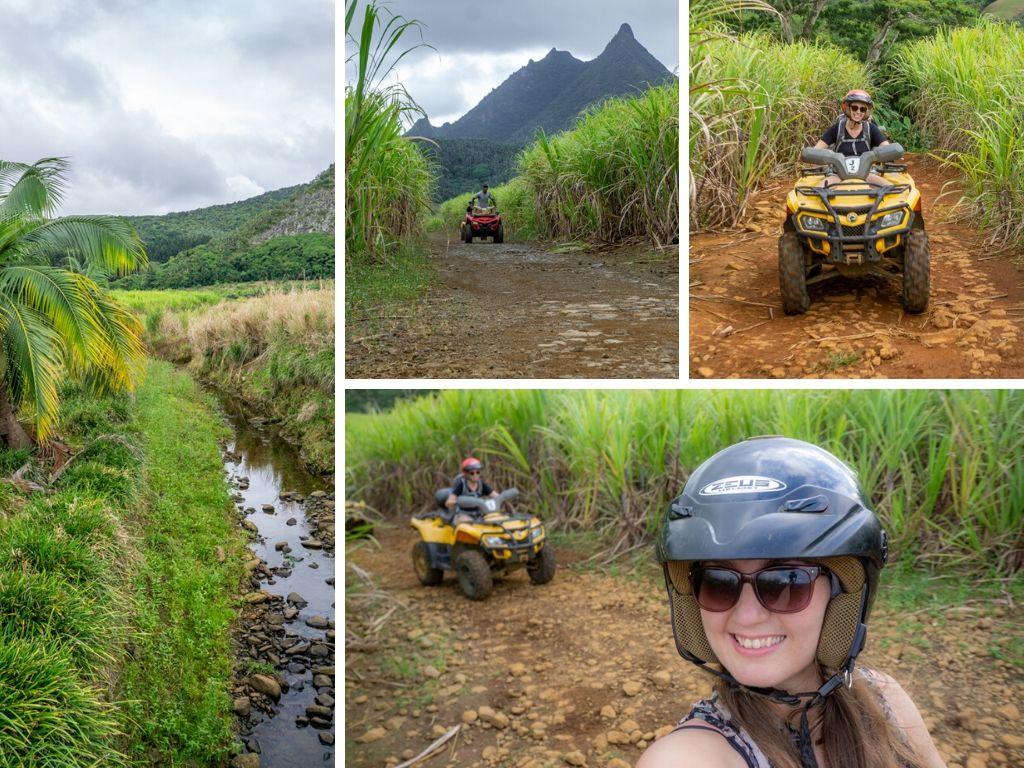 So Exciting! Quad biking in Mauritius Tested for the First Time! || The Travel Tester