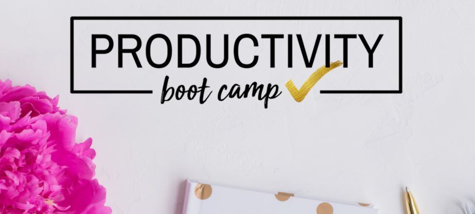 Productivity Boot Camp Course