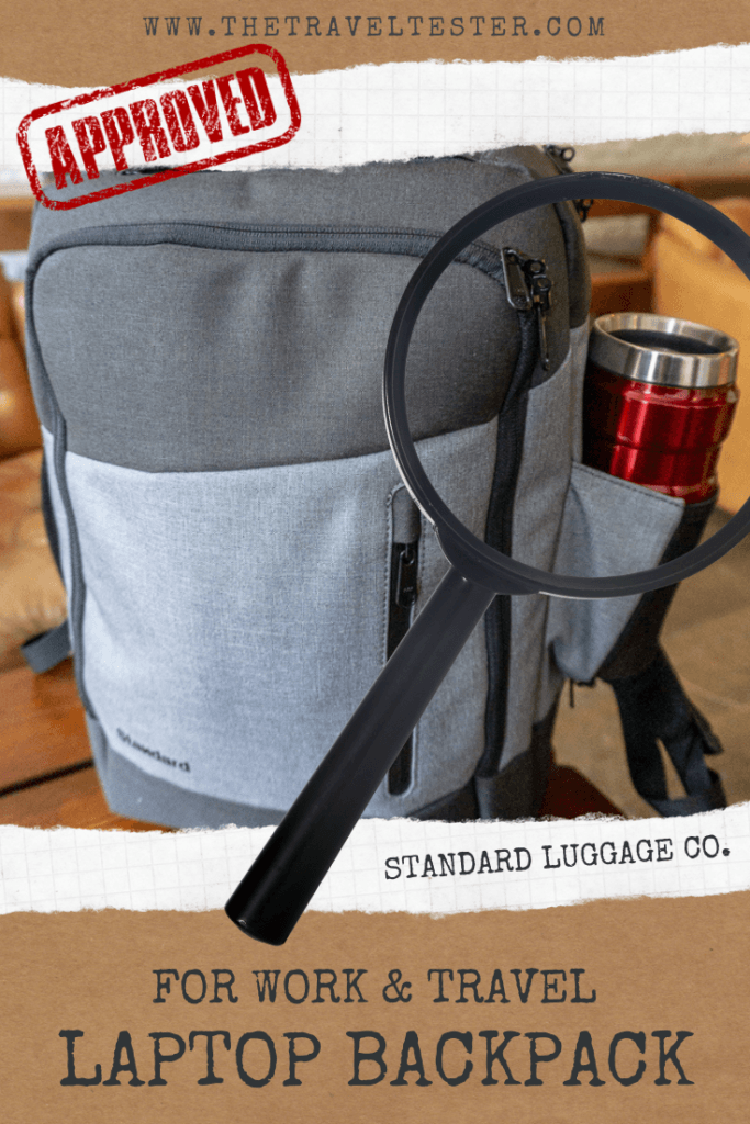 STANDARD LUGGAGE BEST DAILY BACKPACK FOR WORK AND TRAVEL || The Travel Tester