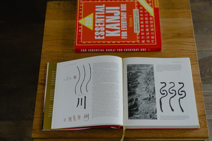 Japanese / Chinese Character Book
