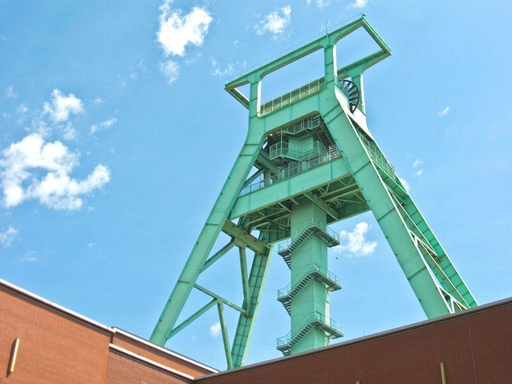 Mijnbouwmuseum in Bochum Duitsland