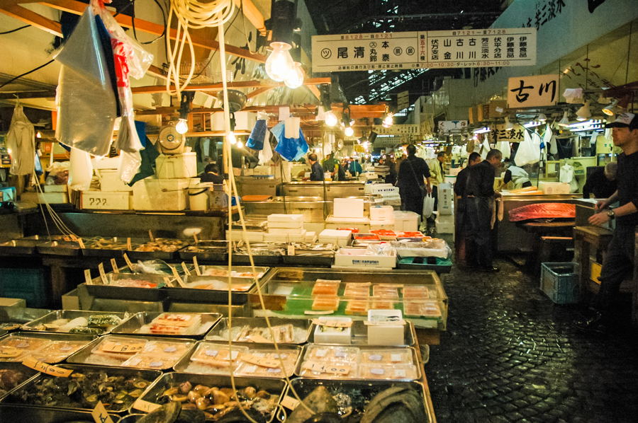 Tokyo Tsukiji Fish Market Hours: Is it Really Worth Getting up at 4AM? || The Travel Tester