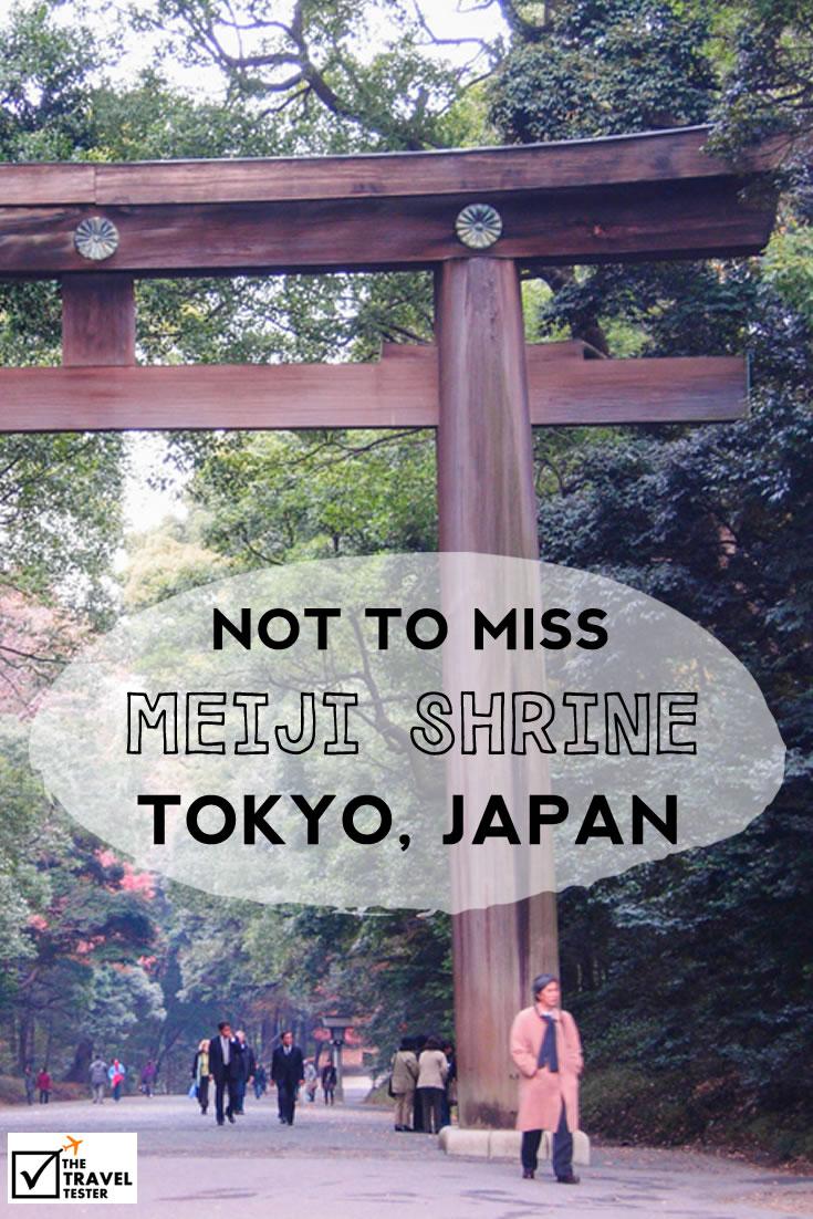 Discover the Meiji Tokyo Shrine in Shibuya, Japan | The Travel Tester