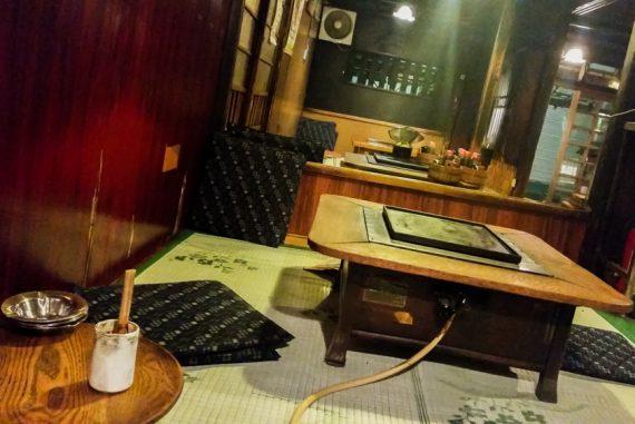 Traditional Dining at Sometaro Okonomiyaki in Tokyo, Japan | The Travel Tester