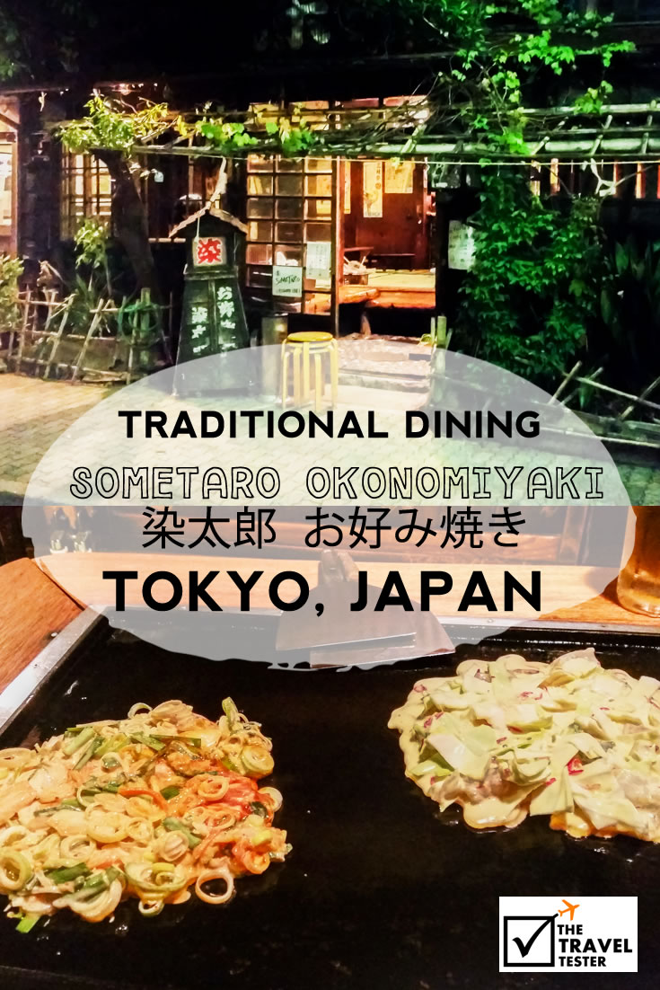 Traditional Dining at Sometaro Okonomiyaki in Tokyo, Japan | The Travel Tester