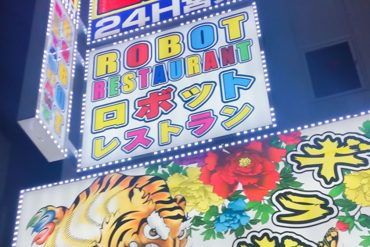 The Brochure Rack: The Amazing Robot Cafe Tokyo || The Travel Tester