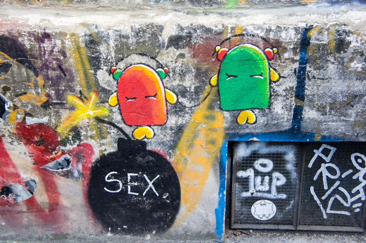 Urban Art - Sexbom