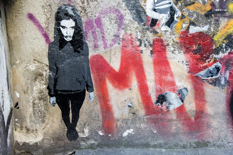 Street Art - Teenager