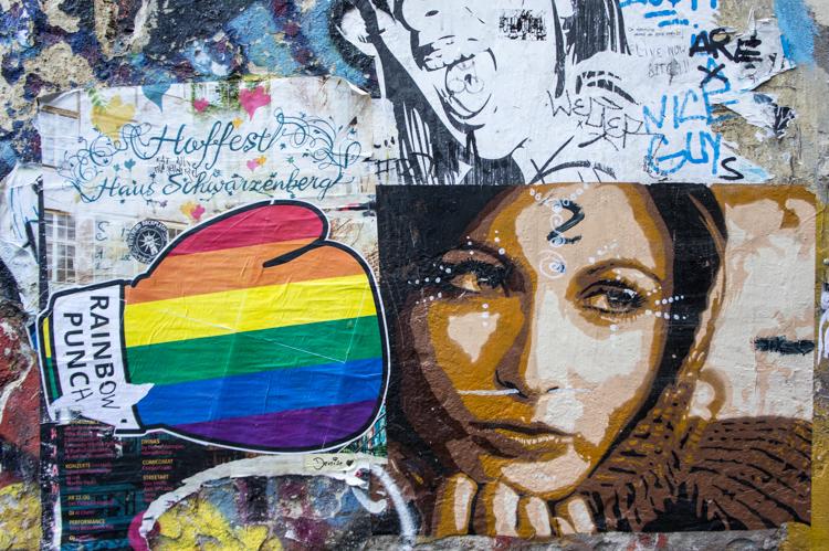 Streetart - Woman Face