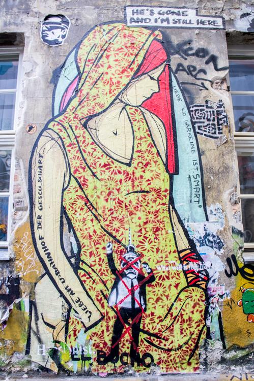 Street Art Berlin - Lady el Bocho