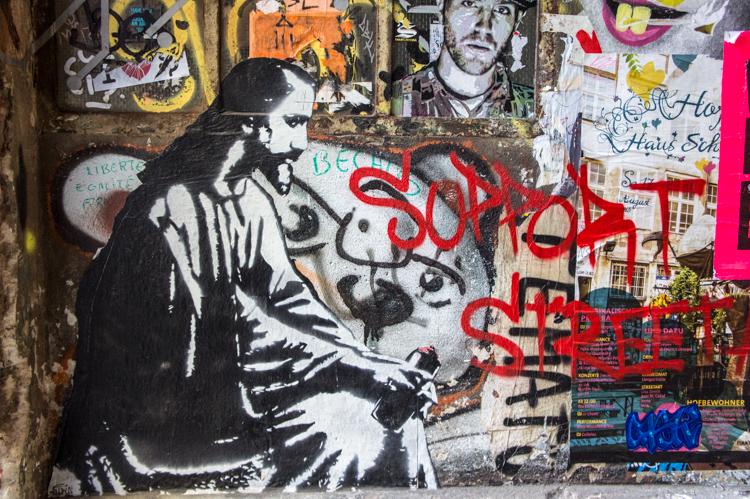 Street Art - Jesus