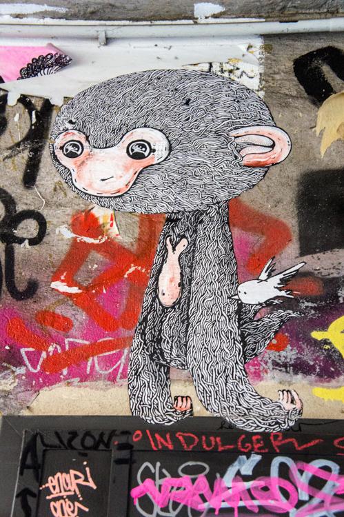 Streetart - Monkey
