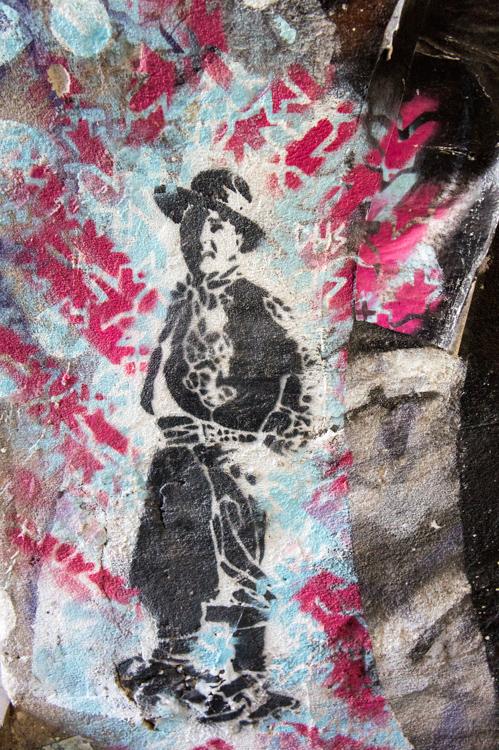 Street Art Berlin - Boy Hat