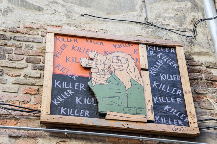 Streetart - Killer
