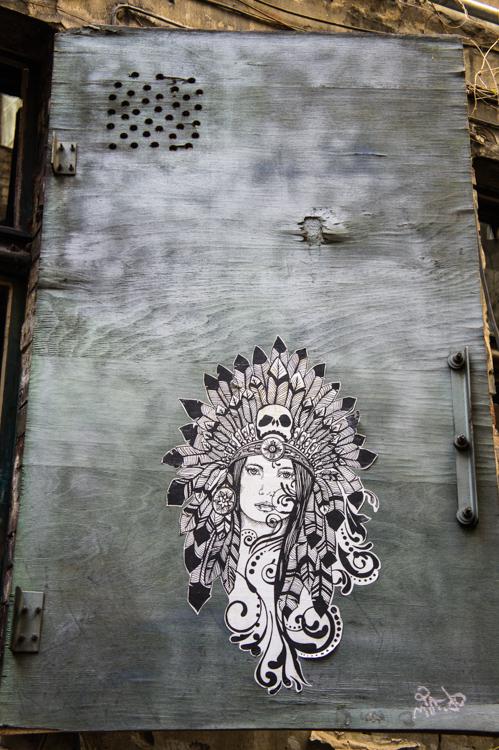 Street Art Berlin - Woman