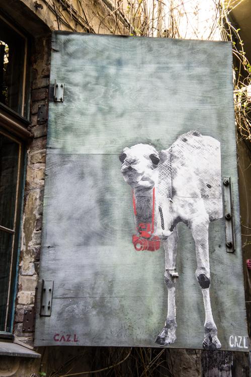 Street Art Berlin - Camel
