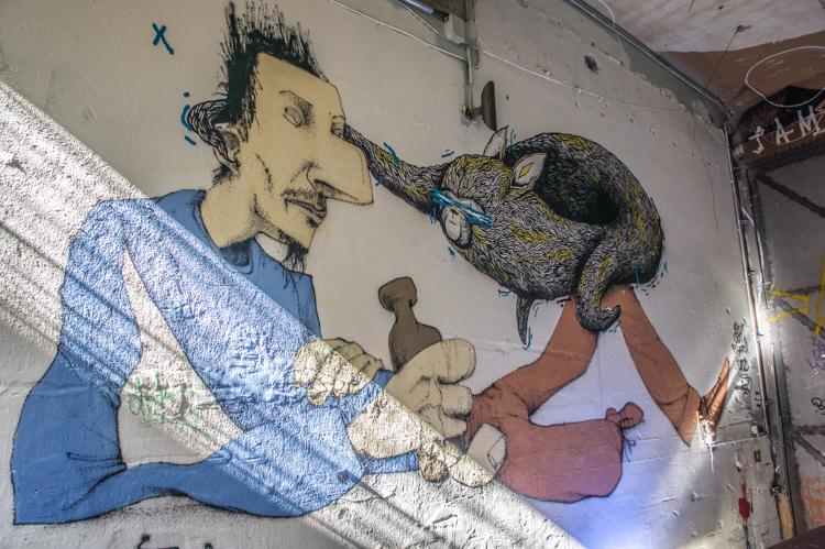 Street Art Berlin - Wall Mural