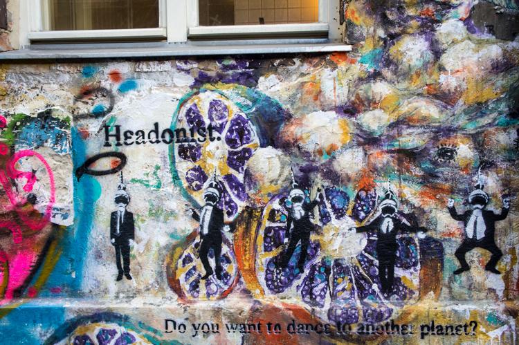 Street Art - Hedonism