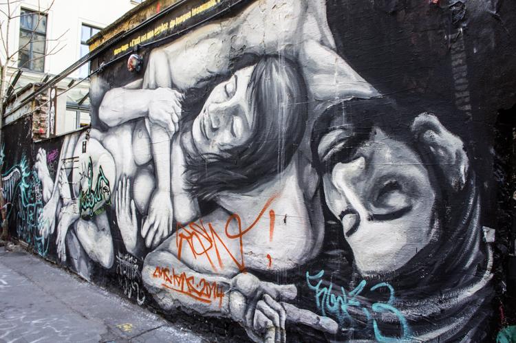 Street Art - Couple